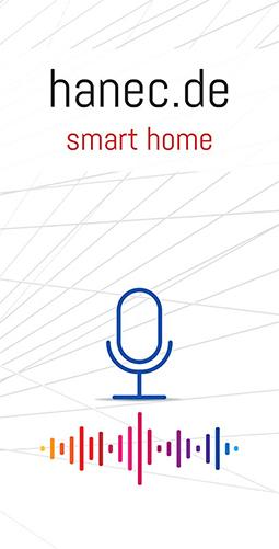 Flyers hanec zu Smart Home - Vorderseite